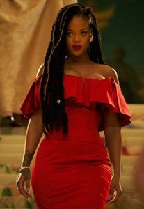 Dreads ocean's 8 RiHanna Rihanna Outfits, Rihanna Movies, Rihanna Red Dress, Fenty Rihanna, Mode Rihanna, Rihanna Style, Rhianna Fashion, Rihanna Body, Rihanna Meme