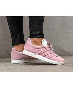 6a2754020ae Adidas Gazelle Stitch And Turn W Wonder Pink Wonder Pink Ftwr White  Trainers Sale UK