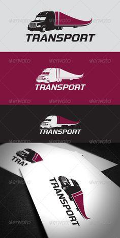 Transport   Logo Design Template Vector #logotype Download it here: http://graphicriver.net/item/transport-logo-template/6316869?s_rank=727?ref=nexion