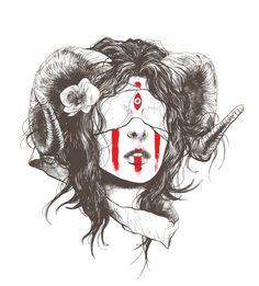 Ram Horned Girl