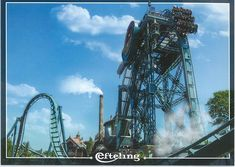 From Rianne in Holland. It's one of plenty amusement parks there. Amusement Parks, Holland, Postcards, Fair Grounds, Gallery, Travel, The Nederlands, Viajes, Netherlands