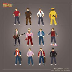 Back to the Future - Marty McFly's costumes