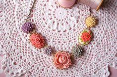 citrus pop necklace