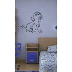 Lion King Wall Mural Sticker Baby Room Nursery