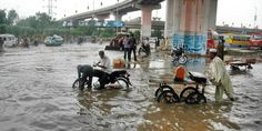 194 feeders trip as #Lahore receives heavy downpour