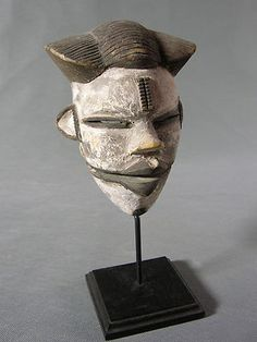 Tribal African Ogoni Articulated Mask Nigeria EX Nicholson Collection   eBay