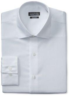 Kenneth Cole Reaction Men's Textured Solid Dress Shirt, White, 15.5 32-33 Kenneth Cole REACTION http://www.amazon.com/dp/B00BVBD3ZG/ref=cm_sw_r_pi_dp_FPInvb14YGKXR