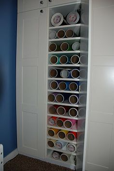 Craft Vinyl Storage On Pinterest Vinyls Vinyl Storage