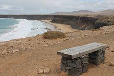 Playa de El Águila o de Las escaleras. El Cotillo.