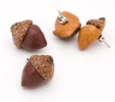 polymer clay acorn - Google Search