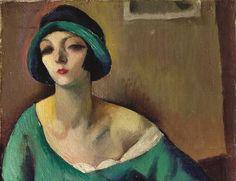 Portrait de Kiki de Montparnasse , de Maurice Mendjizky 1921