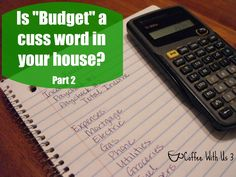 How to make a budget, so that you can take control of your finances this year!