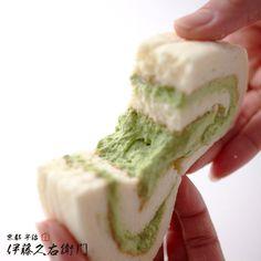 宇治抹茶半熟スフレロールケーキ http://www.itohkyuemon.co.jp/item/783.html