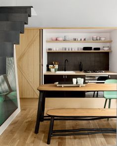 Appartement Paris, architecte d'intérieur Fleur Delesalle © Vincent Leroux (AD n°114 février-mars 2013)