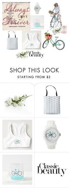 """Let's Go For a Bike Ride"" by fit4you ❤ liked on Polyvore featuring Kate Spade, sporty, totebag, bikeride, biking and sportsbra"