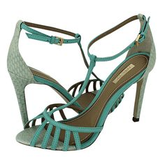 Siret - Dumond Women's sandals made of leather and snake leather with synthetic lining, synthetic outsole and a heel height of 10 cm. Available in color Cinnamon and Veraman. Green Shoes, Women's Feet, Me Too Shoes, Snake, High Heels, Leather, Women's Sandals, Cinnamon, Online Shopping