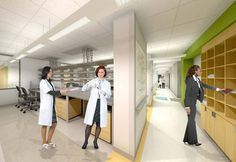 Lab space / VMI / University of Pittsburgh Renovation