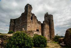Le château de Najac , Midi-Pyrénées , France
