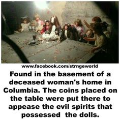 Its strange and creepy!<<<Same thing Creepy Stories, Ghost Stories, Horror Stories, Scream, Creepy Facts, Creepy Stuff, Creepy Things, Fun Facts, Haunted Dolls