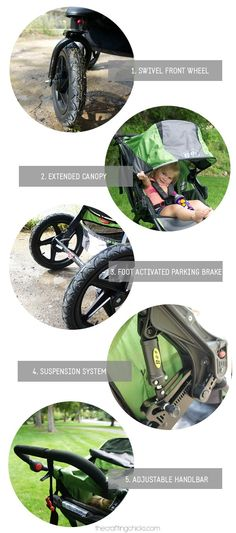 5 things I never knew I needed in a stroller and now they're must haves! Love my BOB.