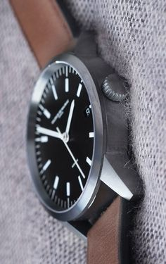 Amazing timepiece by Swiss watchmaker Maurice de Mauriac. Swiss handmade watches for men and women.