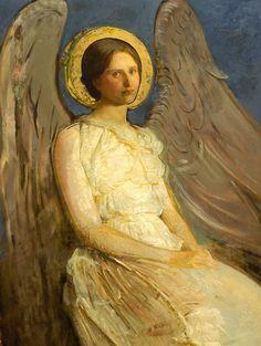 Angels of Abbott Handerson Thayer
