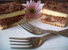 Fotorecept: Čokoládovo-tvarohové kocky
