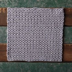 Designing this spa cloth was definitely one of those times where the yarn tells you what it wants to become. I had been swatching away with different stitch patterns and nothing was quite right for this delicate and pale shade of lilac. Finally, I stumbled on a simple v-stitch pattern that used the half double crochet and I knew that this was the perfect pattern to pair with such a sophisticated shade.