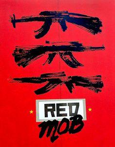 RED MOB BLU-RAY SLIPCOVER (VINEGAR SYNDROME)