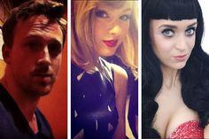 Ryan Gosling, Taylor Swift e Katy Perry são só algumas das celebridades que têm sósias por aí