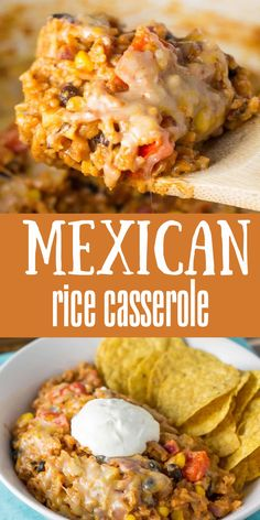 Casserole Taco, Casserole Dishes, Casserole Recipes, Easy Mexican Casserole, Vegetarian Casserole, Beef Recipes, Mexican Food Recipes, Vegetarian Recipes, Cooking Recipes