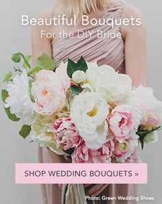 Beautiful bouquets for the DIY bride
