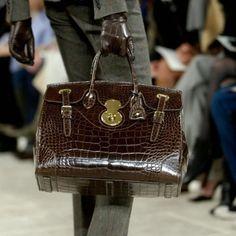 Brown/ Bag/ Ralph Lauren