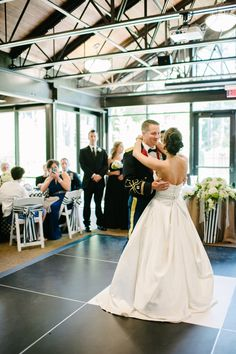 Adding a dance floor to your venue will let your guests know that they better get up to dance! Faith Teasley Photography