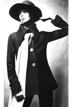 Photo: Jean-Jacques Bugat, 1969. - I love the whole look ... that collar is great!