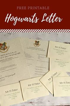 There is not a Harry Potter fan alive that wouldn't love to see a Hogwarts Letter with their name on it delivered by owl. This fun print The post There is not a Harry Potter fan alive that wouldn't love to see a Hogwarts L appeared first on Decoration. Harry Potter Brief, Harry Potter Classes, Harry Potter Letter, Harry Potter Thema, Classe Harry Potter, Mundo Harry Potter, Harry Potter World, Harry Potter Halloween, Harry Potter Classroom