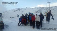 Iran Zagros Range Ski the Zard Kuh peak 02 February 2017  #iranmountainguide #iranmountaintravel #irantourism