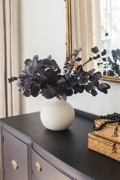 This simple mixed eucalyptus bundle in deep purple is the perfect addition to any space for your home decor this fall. It includes a combination of preserved spiral eucalyptus and preserved silver dollar eucalyptus leaves for an effortless look. Shop preserved eucalyptus bundles at Afloral.com.