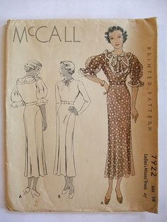 1934 - McCall 7922 | Flickr - Photo Sharing!
