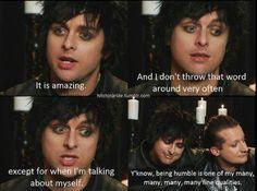 Humble? I think not. Hahahaha!