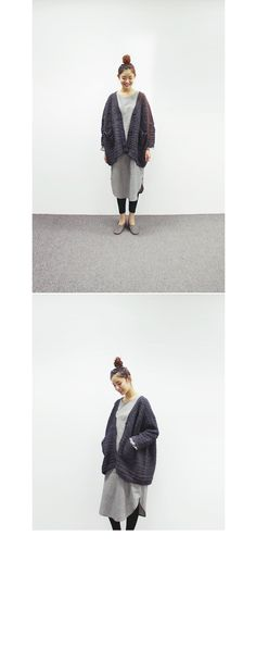 [loose-fit button cardigan]