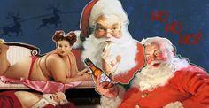 Um velhinho barrigudo e com bochechas rosadas que, na véspera do Natal, entra nas casas pelas chaminés e deixa presentes embaixo da árvore. Se esta é a ideia que você tem em mente quando ouve falar de Papai Noel, prepare-se: vendo as imagens, você vai descobrir outras facetas do bom velhinho.
