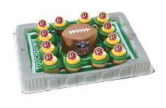 Washington Redskins Cupcake Platter