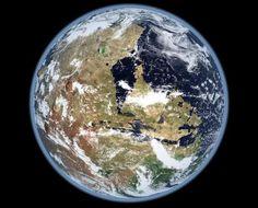 [foto] Marte hace 2 mil millones de años   Kevin Gill (CC)