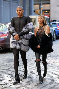 Back for more: EJ Johnson will be getting his own six-part spinoff, EJ And The City, which will also feature his sister, Elisa Johnson (the pair pictured in April in New York, filming a segment for the show)