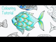 How to Color A Fish in Lost Ocean - Johanna Basford - Adult Coloring Blog