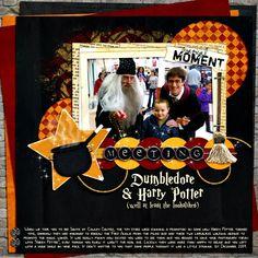 Meeting Harry Potter - Scrapbook.com