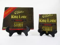 King Louie Toffee Stout Beer Coaster