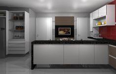 Cozinha - Apartamento Residencial