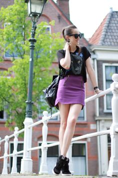 Photo of Andy. I love the sneakers! Street Fashion, Women's Fashion, Style Scrapbook, Street Style Summer, Outfit Of The Day, Punk, Urban, My Style, Board